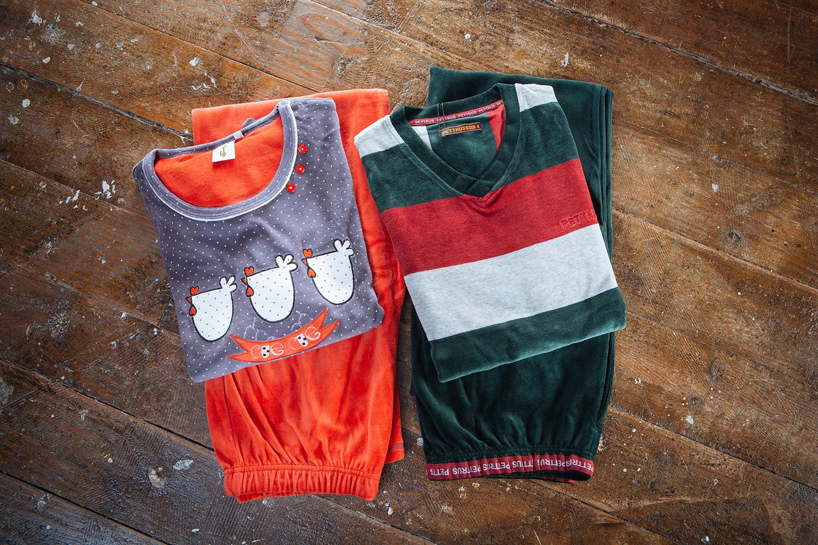 Confección pijamas